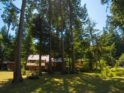 Photo for Savary Island Retreat's Sunny Forest Studio
