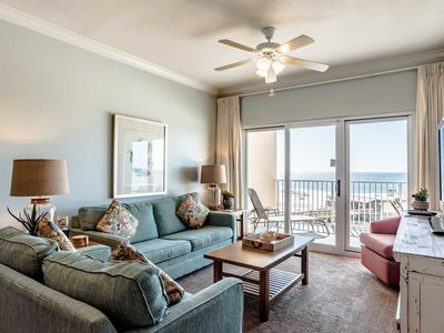 Photo for Beautiful Views from this Gulf Front Condo! Steps to the Beach! Great Resort Amenities!