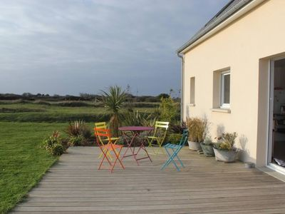 Photo for House seaside, 4 bedrooms, garden and terrace