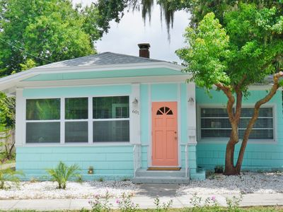 Photo for 1 Cottage, 2 units, 3 beds, 3 baths, Sleeps 10, 5 Minutes to Beach!