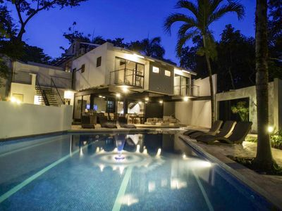 Photo for MODERN 6 BEDROOM HOUSE WITH SWIMMING POOL AND TERRACE.