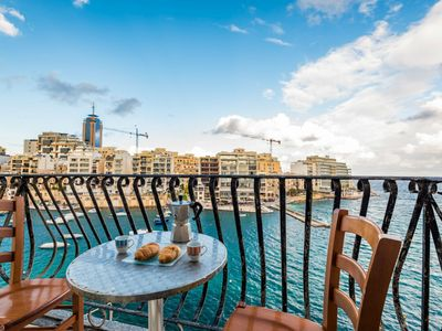 Photo for GetawaysMalta - Spinola Bay Seafront Mansion in St Julian's