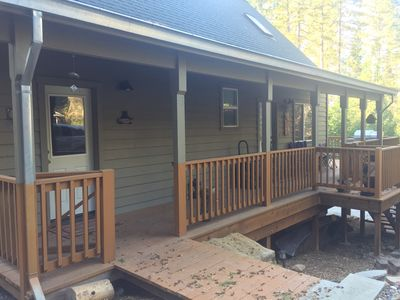 Photo for NEW LISTING! The Knotty Pine Cabin 1 hour to Yosemite  - 20 min's to Pinecrest.