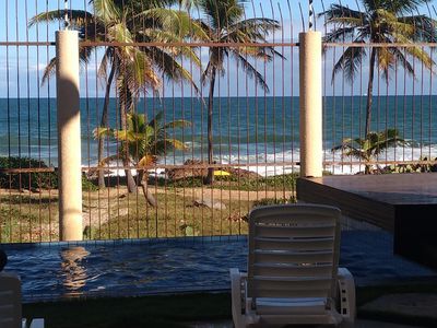 Photo for Beautiful Beachfront Home, Pool, BBQ, Private Gate to Beach