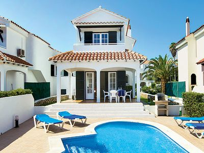 Photo for Centrally located villa a few minutes' walk to a beautiful sandy beach - ideal for a fun filled holiday