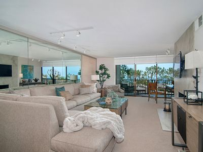 Photo for Stunning Del Mar Condo Spectacular Ocean View Pool/Gym/Tennis