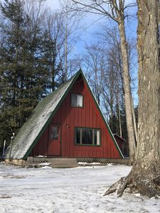 Photo for Cozy little A-Frame located in beautiful Harbor Springs.