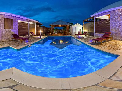 Photo for Villa Roucou, with pool and garden