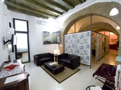 Photo for NEW Charming Campo dé fiori apartment suitable for families and group of friends