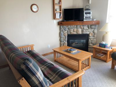 Photo for Affordable Fully Equipped Creekside Condo - Sleeps 7