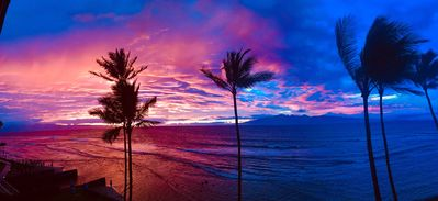 Maui Sunsets can be amazing!!!