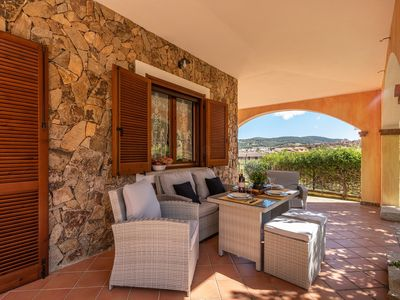 Photo for Holiday Home with Wi-Fi, Air Conditioning, 2 Terraces and Pool - Villa Isabel