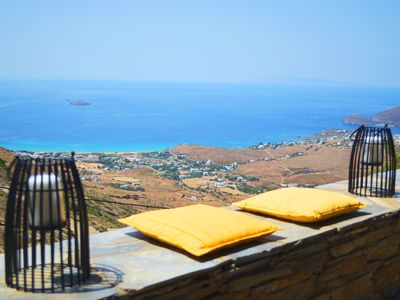 Photo for Infinite view of the Aegean at Villa Celest
