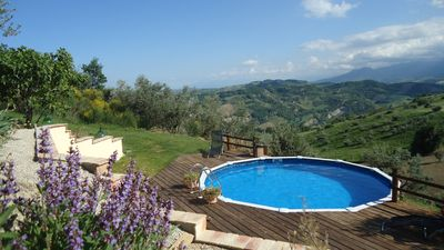 Photo for Casa Lumaca  Stone Villa, Private Pool & Stunning Views Sleeps 7