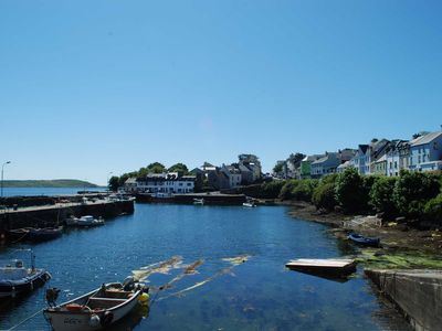 Roundstone village and harbour