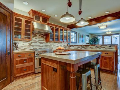Photo for Bend Film Festival! Updated luxury Old Mill townhome, steps away from Deschutes River, trails.
