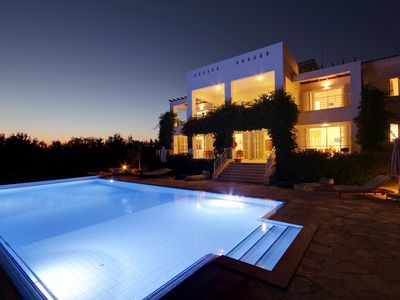 Photo for Villa Grande a Superb 6 Bed, Luxury Villa With  Stunning Panoramic Sea Views!