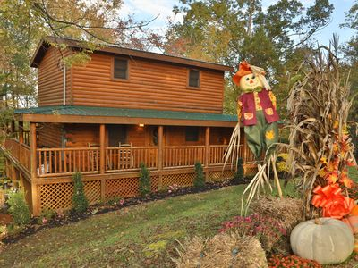 Photo for Pigeon Forge Cabin Swimming Pool Cabin SKINNY DIPPIN'  261