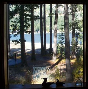 Lake View From Living Area & Homeowner's Private Beach.