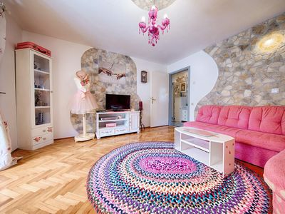 Photo for One bedroom apartment with terrace Komiža (Vis)