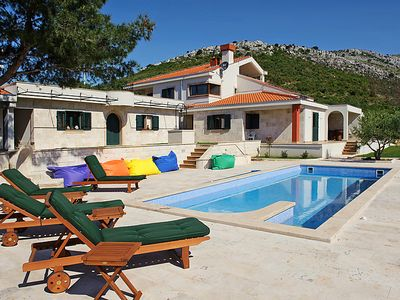 Photo for Vacation home Villa Drage  in Trogir, Central Dalmatia - 10 persons, 4 bedrooms