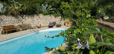 Photo for Saint Jeannet Villa with beautiful views of the valley