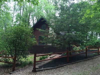 Photo for Charming Lodge in the Hocking Hills
