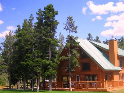Photo for Large Beautiful Log Home in East Glacier Park