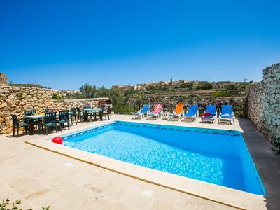 Photo for Typical Farmhouse of choice with pool licensed by the Malta Tourism Authority.