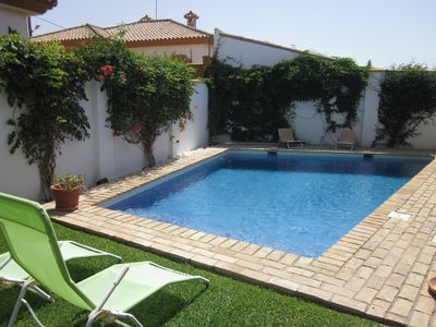 Photo for BEAUTIFUL HOUSE WITH PRIVATE POOL, PORCHES, BARBECUE, AIR CONDITIONING AND WIFI