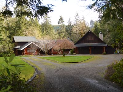 Photo for Two Beautiful Log Cabins alongside the Sol Duc River!