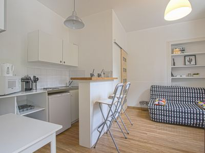 Photo for Cozy Rouen: Studio Center City near Train Station