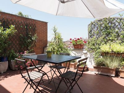 Photo for Lovely 2 bed flat w/Terrace in San Giovanni