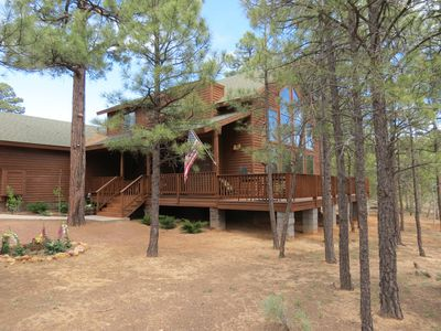 Photo for Beautiful Cabin in the White Mountains - Torreon Resort - Sleeps 10