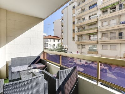 Photo for Suite Cannes Center - Two Terraces - Wifi - AC