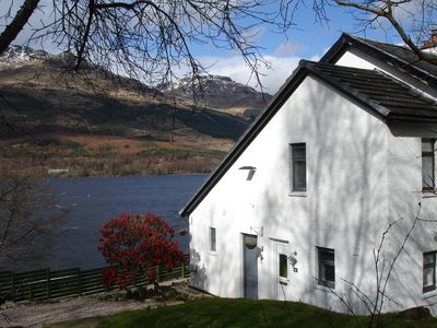 Photo for Lochside Cottage with Panoramic views of Loch Long and the Arrochar Alps