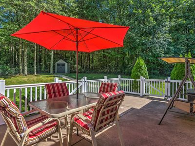 Photo for Serene Orchard Park Apartment w/Large Yard & Patio