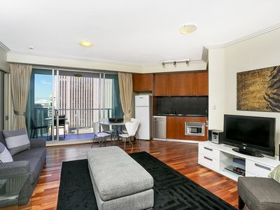 Photo for MARKT - Executive Lifestyle Apartment with Valet Parking