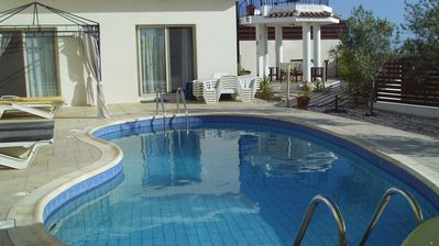 Photo for Fabulous Spacious Villa, Private Pool, Sea Views, Internet Access
