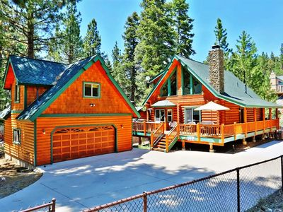 Photo for Canyon Retreat-Log home with Outdoor Spa & Pool Table!