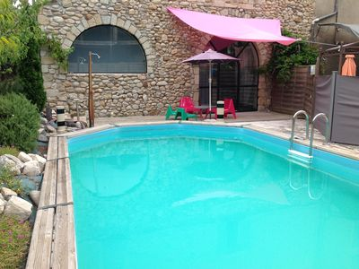 Photo for Character cottage with pool for 4 people including 2 children