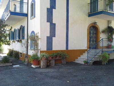 """Photo for Ascea Marina: Villa """"La Quercia Blu"""" - Ideal for a holiday immersed in nature and in history"""