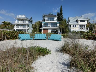 Photo for New Beach Villa With private Beach and heated Pool.Gulf front at is's best