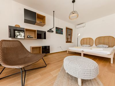 Photo for Casa Dubi. Hvar - neatly designed summer retreat perfect for group of 4-6 people
