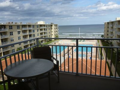 Photo for Just Renovated! Ocean Front 1/1 w/BunkBed Room in Sea Coast Gardens III NSB