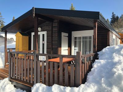 Photo for CHALET CHAMROUSSE - PARK OF CIMES CHALETS - 6 PERS. AT THE FOOT OF THE TRACKS!