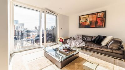 Photo for This is a stunningly spacious, newly built duplex penthouse london apartment