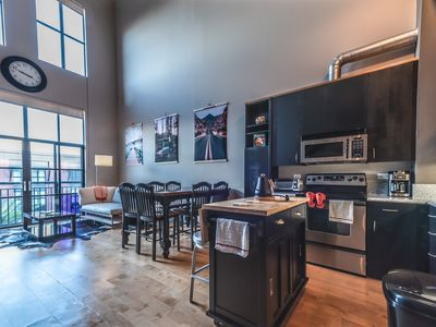 Photo for Newly Furnished KING BED Industrial Santana Row Loft for Business Travelers