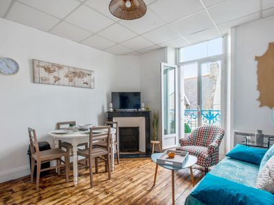Photo for Charming 1br with balcony, 10 min from the beach in Quiberon – Welkeys