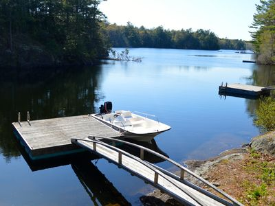 Photo for Luxurious Maine Lake House on Megunticook Lake in Camden, finest rental on lake!